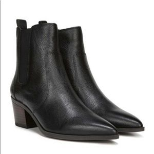 Franco Sarto leather ankle boots size 8